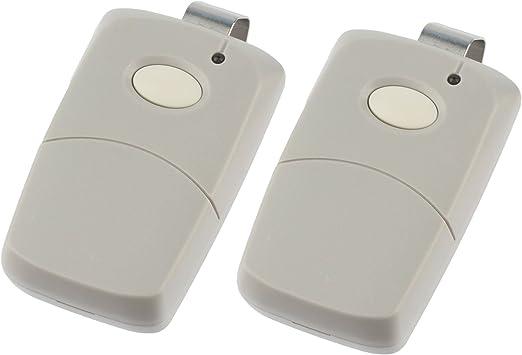 Black 2 Garage Door Remotes for Linear Multi-Code 3089