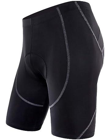 Sportneer Men s Cycling Shorts 4D Coolmax Padded Bike Bicycle Pants Tights 8ec67c680