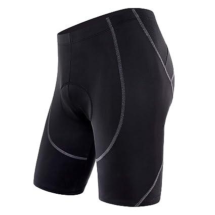 Sportneer Men s Cycling Shorts Biking Bike Bicycle Pants Half Pants 4D  Coolmax Padded bcb501868f0b9