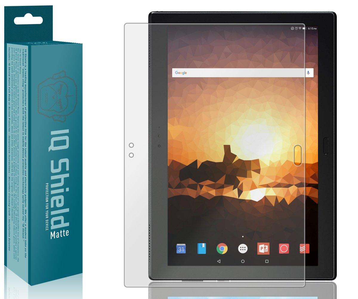 bubble-free Plus 10 Lenovoタブ4 Shieldフルカバーマット