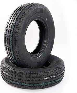 MOTOOS 4Pcs 225 75 15 Trailer Tires 225//75-15 10 PR Load Range E