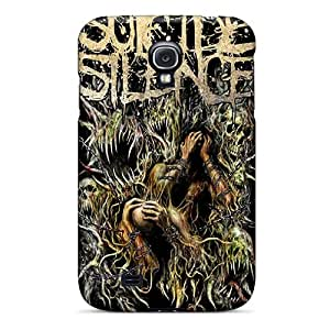 Scratch Resistant Hard Phone Cover For Samsung Galaxy S4 (oEe1051BOqu) Provide Private Custom Trendy Suicide Silence Image