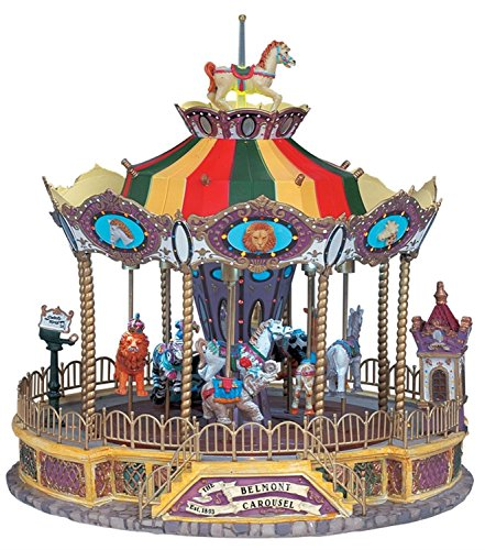 Outdoor Lighted Carousel - 4