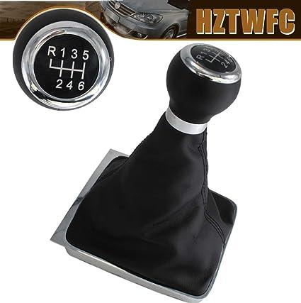 HZTWFC Palanca de cambios de la perilla del engranaje de 6 velocidades