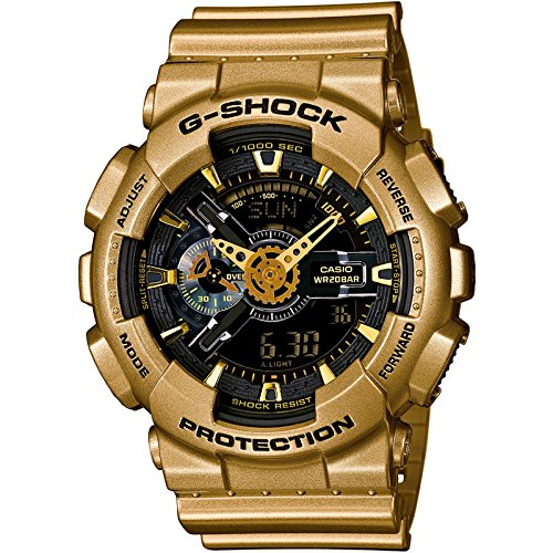Casio Shock Black Gold Colored GA110GD 9B