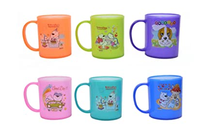 Buy Perpetual Bliss Pack Of 12 Fancy Milk Mugs For Kids Shakes Juices Coffee Birthday Return Gifts Online At Low Prices In India