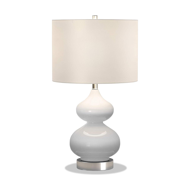 Henn/&Hart TL0038 Double Gourd Lamp One Size White
