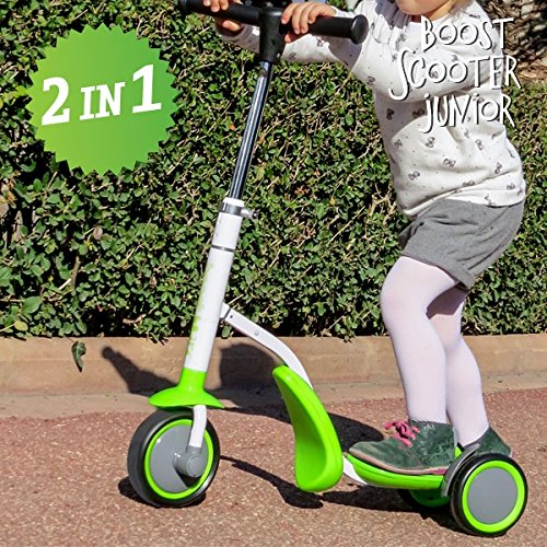 CEXPRESS - Patinete-Triciclo Boost Scooter Junior 2 en 1 (3 ...