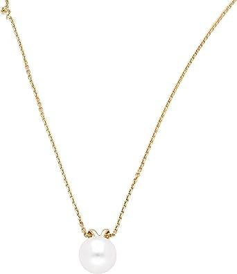 Collier et Pendentif Diamant en Or Jaune 9 Carats 41cm