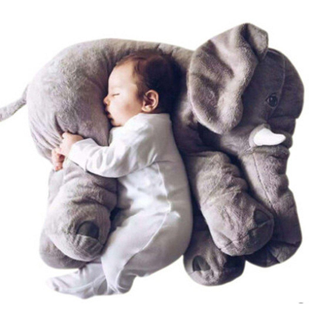 CRAVOG Nouvelle Mollet Peluche éléphant, Ours Blanc / Tapis Totoro, Renard Oreiller Coussin Animal Grande Jouet Poupée Pour Enfant Bébé 60, 40 cm KiKi Monkey #SVM030775_GR