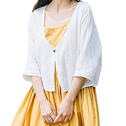 cfdbf1743 Amazon.com  Franterd Solid Color Cardigan