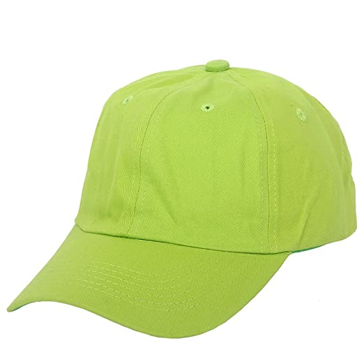 44f37178154 Image Unavailable. Image not available for. Color  Unstructured Cotton  Baseball Cap With emerald Plain Hat Polo Style Adjustable