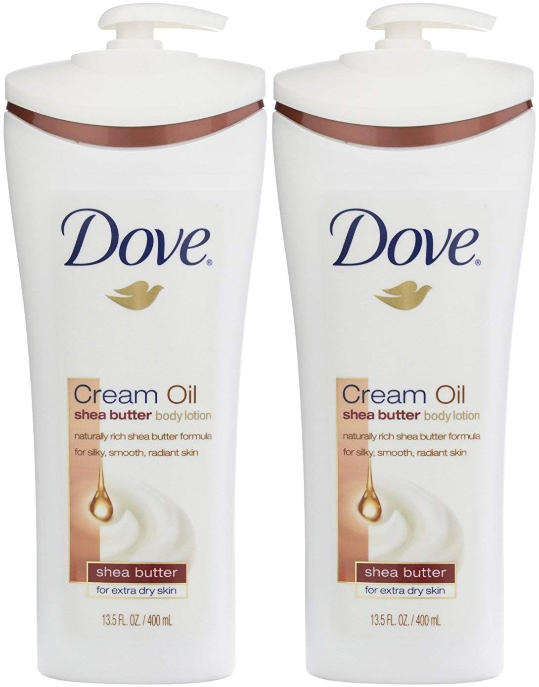 Dove Cream Oil Shea Butter Body Lotion - 13.5 oz - 2 pk