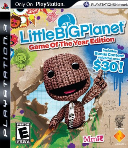 LittleBigPlanet - Game of the Year Edition Playstation 3 (Best Ps3 Games By Year)