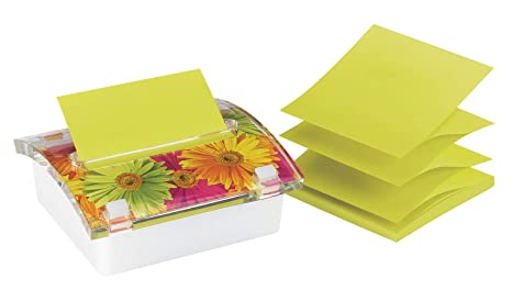 Post-it® Notes Dispenser, Pop-up Refill, 3 Inches x 3
