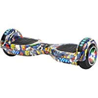 XtremepowerUS Self Balancing Scooter Hoverboard UL2272 Certified Bluetooth Speaker and LED Light