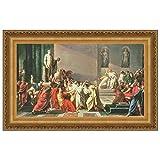 Design Toscano Death of Julius Caesar Canvas Replica Painting: Grande