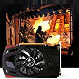 Gotd Black 2GB NVIDIA GeForce GT730 2GB DDR5 PCI-Express 2.0 Video Graphics Card HD/VGA/DVI