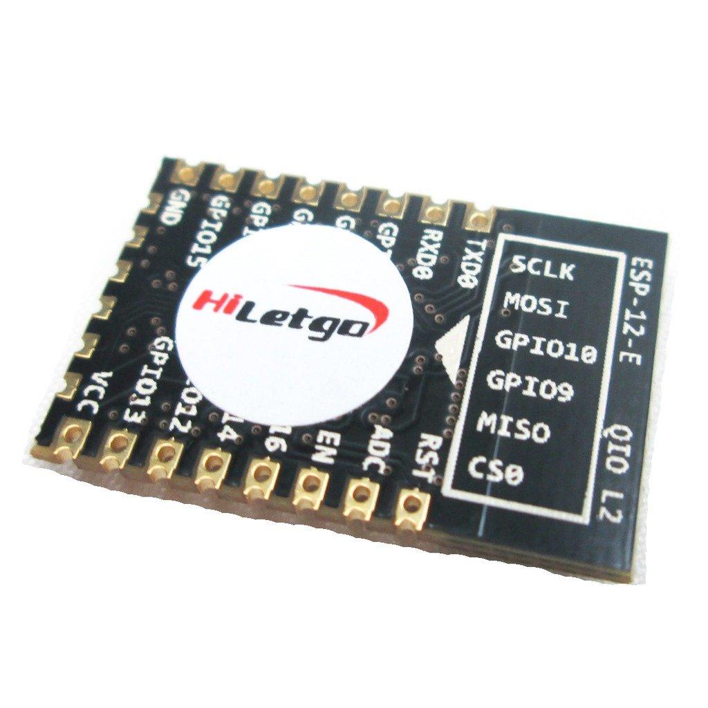 HiLetgo ESP8266 ESP-12E Serial WiFi Transceiver Module Remote Wireless Module Development Board LWIP AP+STA