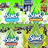 The Sims 3 Stuff 4-pack (Fast Lane, High End Loft, Outdoor Living, Town Life) [Download]