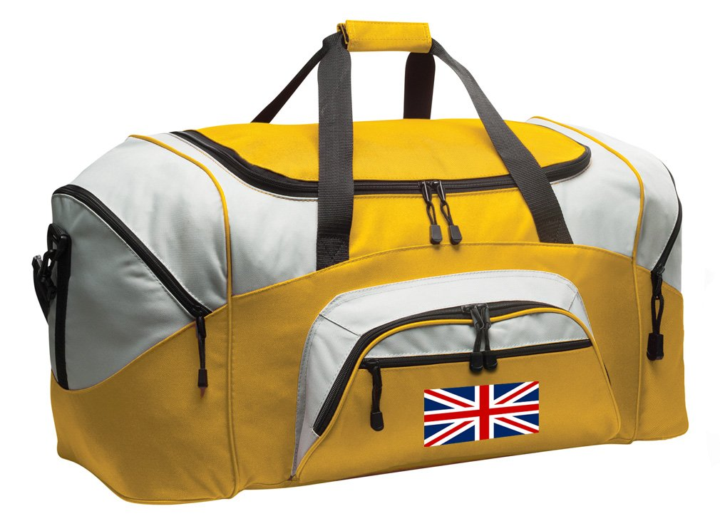 United Kingdom Duffle Bag Large England British Flag Gym Bags