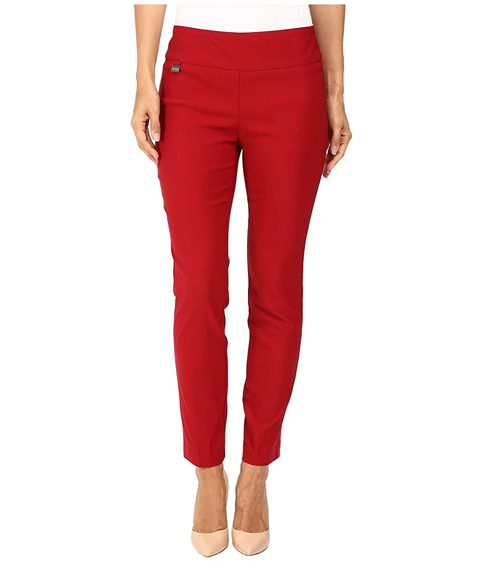 Lisette L Montreal Womens Solid Magical Lycra Ankle Pants