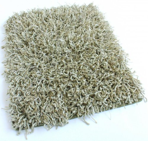 Cheap Shag Area Rug (Many Size and Colors Available) (Pear Slice, 6 inch x 6 inch Sample)