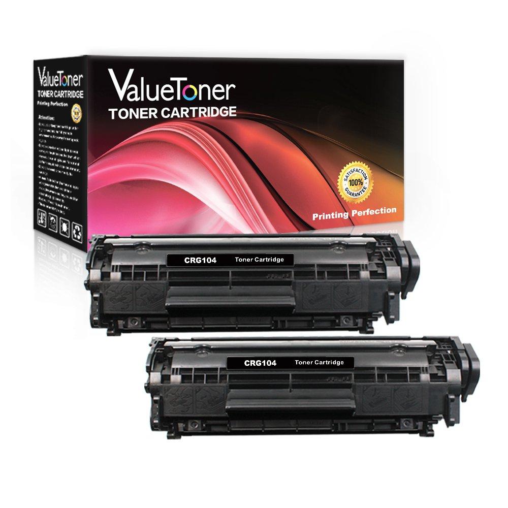 Toner Alternativo ( X2 ) Negro Value 104 CRG-104 FX-9 FX-10