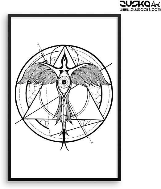 Original ART Print DICTIONARY ANTIQUE BOOK PAGE King Skull Diamond Wall Hangings