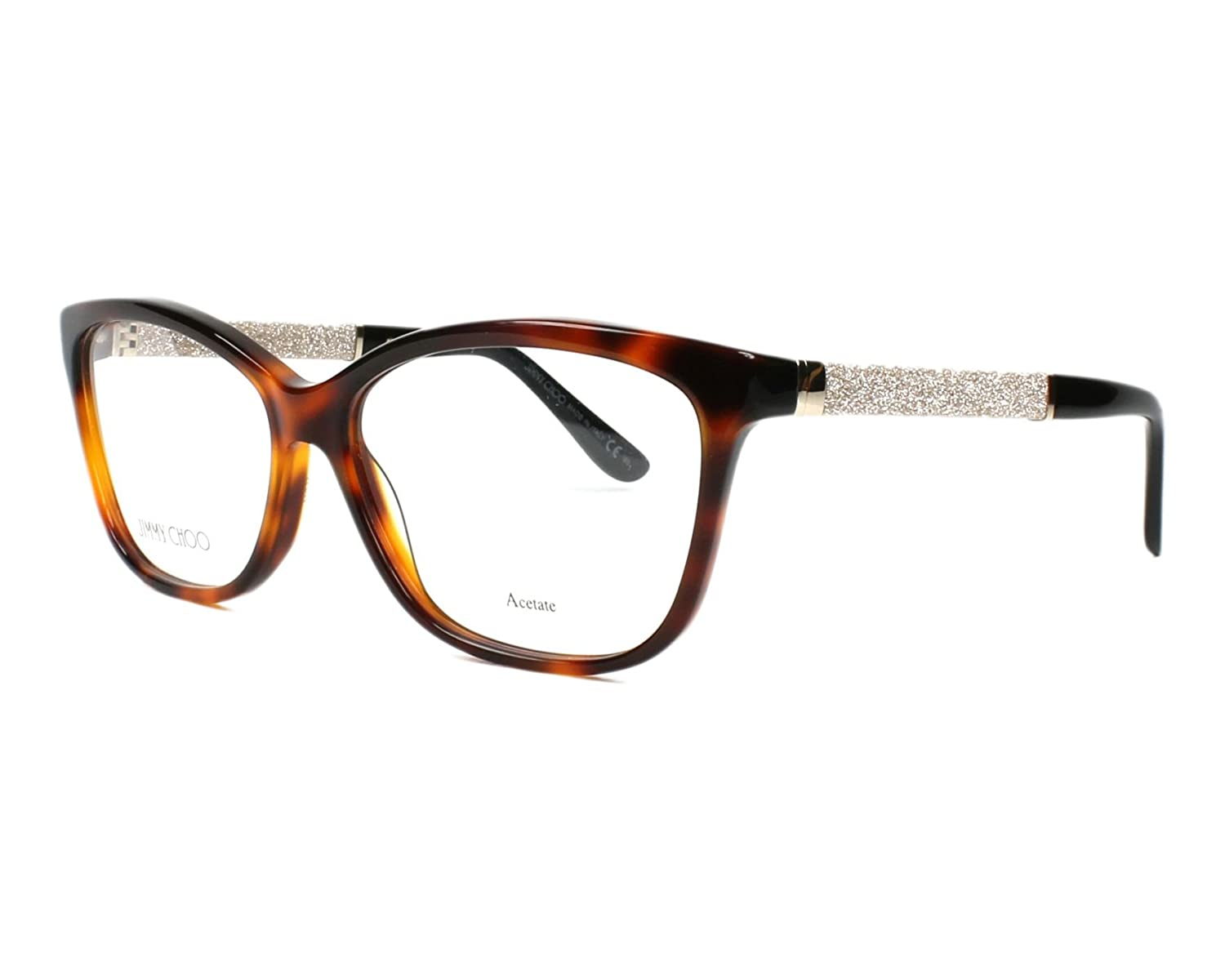 ef75ec9e8a0 Amazon.com  JIMMY CHOO Eyeglasses 105 0Inn Havana 55MM  Shoes