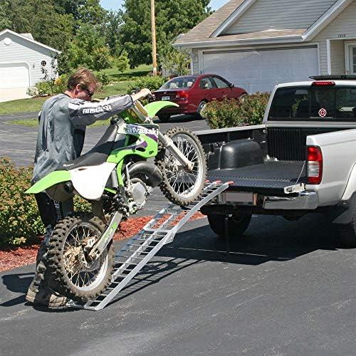 1.8M Steel Folding Loading Ramp Yamaha Honda Motorbikes motorcycles