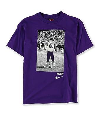 adf2231716065 Nike - T-shirt - Manches Courtes - Garçon - Violet - Medium  Amazon.fr   Vêtements et accessoires