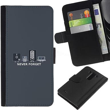 Opción de regalo/smartphones piel protectora para LG G3 // Nunca olvides antiguos - chistosa Vhs //: Amazon.es: Electrónica