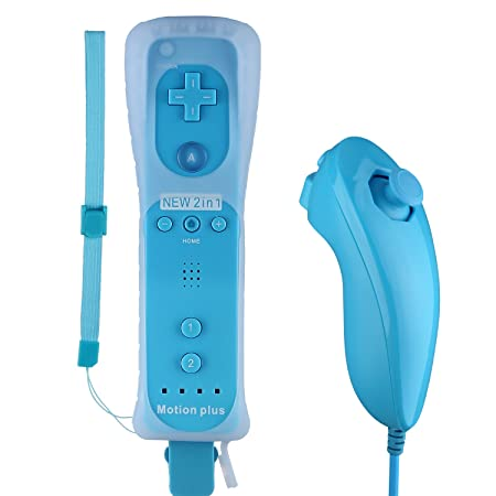 Amazon.com: Controller for Wii,Bigaint Built in Motion Plus ...