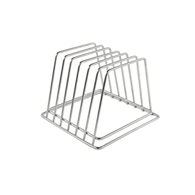 Commercial Cutting Board Rack - Stainless Steel, No Rusting (3/4  Width Slots)