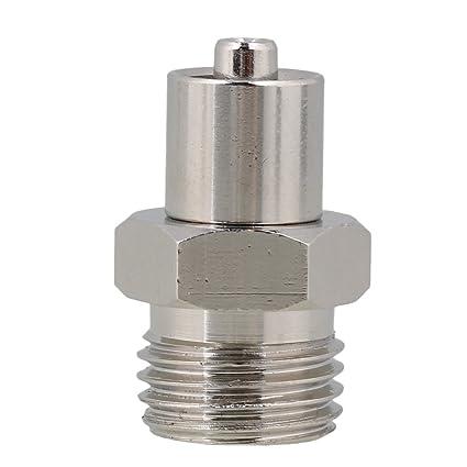 BQLZR 1/4 Diámetro de rosca Industrial dispensador de pegamento lavable dispensador accesorios metal aguja