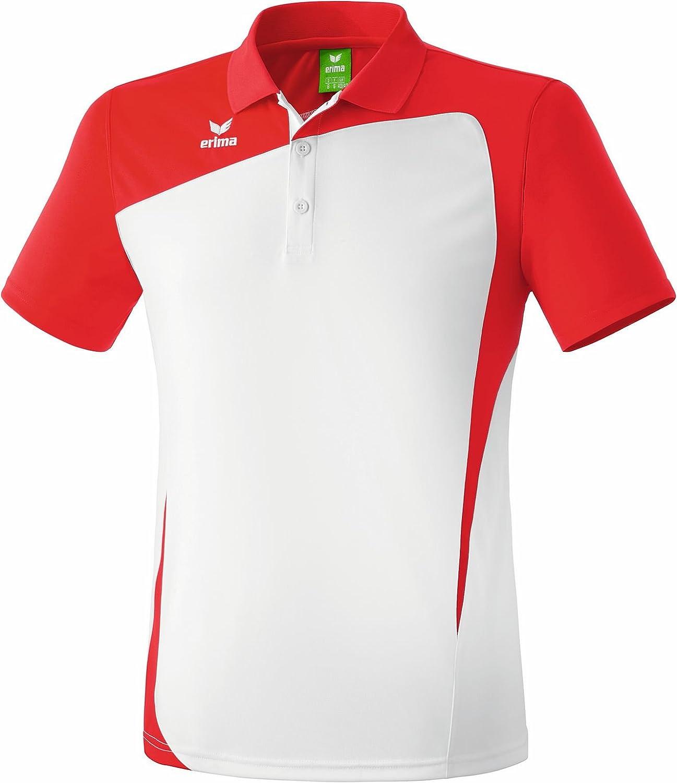 erima Poloshirt Club 1900 - Polo para niña, Color Blanco/Rojo ...