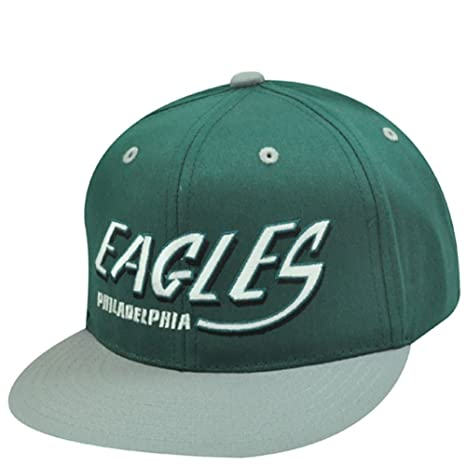 f0c1837c Amazon.com : NFL PHILADELPHIA EAGLES OLD SCHOOL SNAPBACK CAP HAT ...