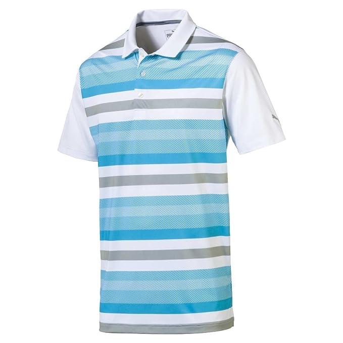 1676b352ca PUMA Golf Men's 2018 Turf Stripe Polo