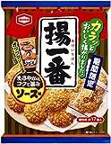 亀田製菓 揚一番 ソース味 120g×12袋