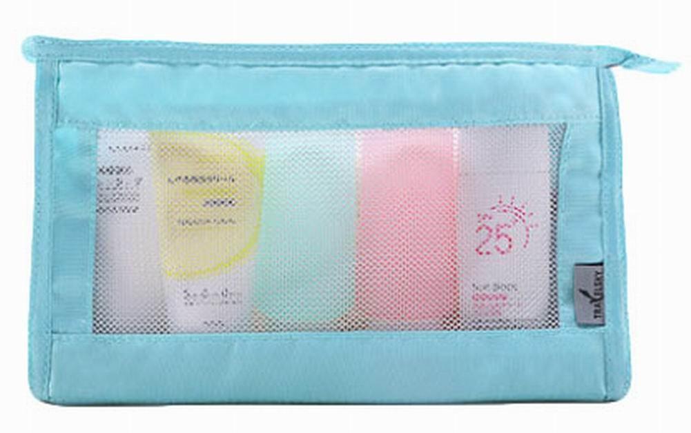 sac à séchage rapide maillage de douche sac de voyage sac voyage, bleu Blancho Bedding