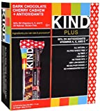 Kind Plus Antioxidant Bars Dark Chocolate Cherry Cashew — 12 Bars, Health Care Stuffs