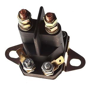 Friday Part Starter Solenoid Relay Switch Briggs & Stratton Engine MTD Sears Craftsman Mower