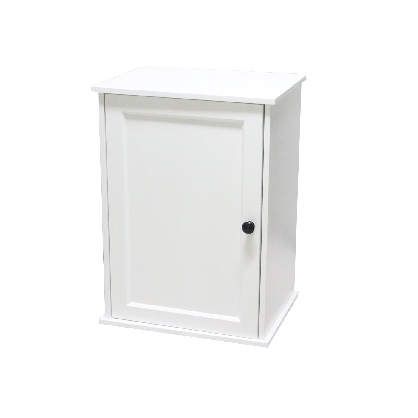 Bathroom cabinet wall hung White modern minimalist bathroom cabinet made of environmentally friendly MDF for small size houses and bathrooms (B40*T30*H55) ease