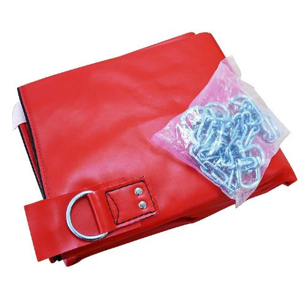 [WILD FIT ワイルドフィット] サンドバッグ (PVC) Φ40X150cm 赤 / 中身なし B009G8OIQE