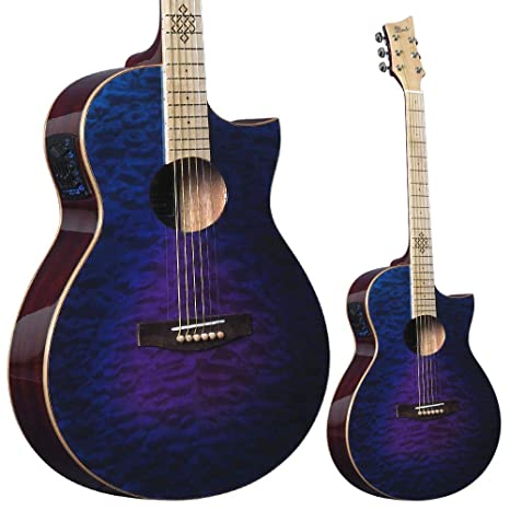 Lindo Karma Slim Body - Guitarra electroacústica (con ...