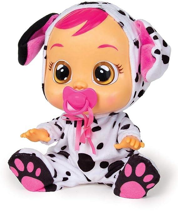 IMC Toys Muñeca Bebés Llorones, Dotty Dalmata (96370)