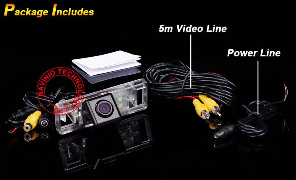 Dynavsal Macchina Fotografica di Retrovisione di HD Macchina Fotografica dinversione di Sostegno,Telecamera posteriore per Nissan Sunny//Qashqai//X-Trail//Geniss//Pathfinder//Dualis//Navara//Citroen//Peugeot