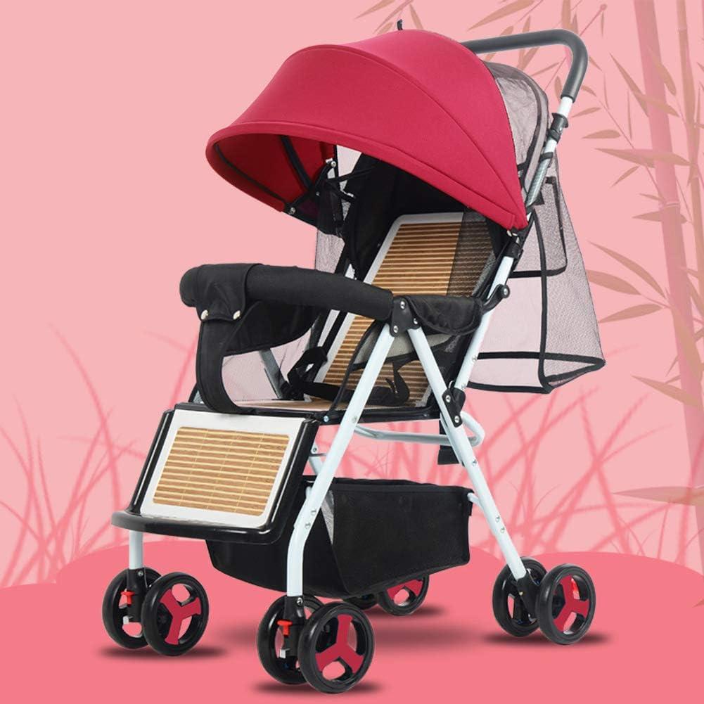 Silla Plegable Ligera,stroller Lavable Baby Discovery Four Seasons Universal Baby Stroller-c