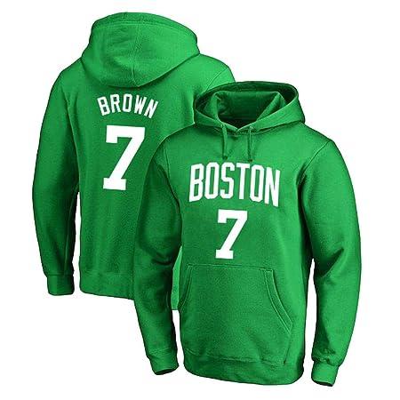 NBA Boston Celtics 7# Brown con Capucha De Baloncesto Jersey ...